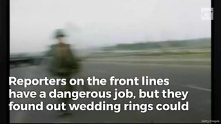 Why Even Single War Correspondents Wear Wedding Rings - Video