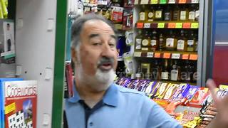 UK convenience store owner makes viral music video to save his licence - Video