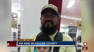 ICE Agents detain people in Collier County - Video