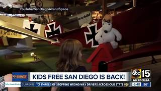 Kids Free San Diego is back! - Video