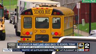First day of school means big changes for students this year - Video
