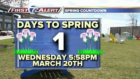 One day until spring