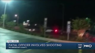 Fatal officer involved shooting