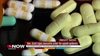 Gov. Scott directs statewide public emergency for opioid epidemic - Video