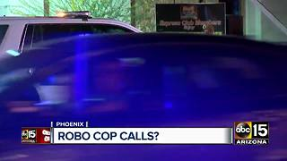 Phoenix police union sending out robocalls - Video