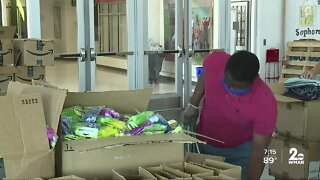 Mental health kits assembled for Baltimore County students