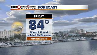 Warm and Humid Through the Weekend 2-8 - Video