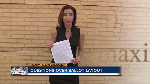 Questions over ballot layout