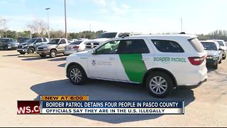 Border Patrol detains four people in Pasco County
