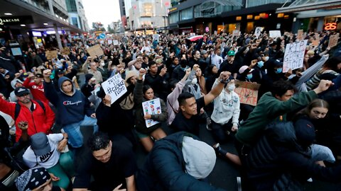 Protests Over George Floyd's Death Spread Across The Globe