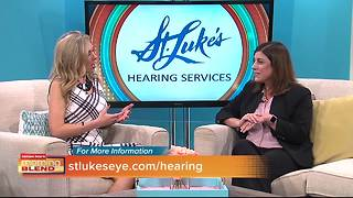 October is Audiology awareness month and St. Luke's talk about how important screening is - Video