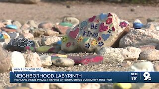 Highland Vista labyrinth brings community together
