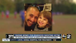 Raising Money For Edgewood Shooting Victim - Video