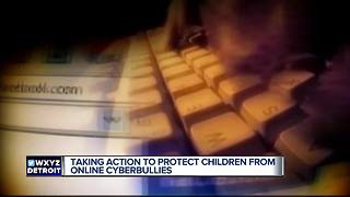 Taking action to prevent children from online cyberbullies - Video