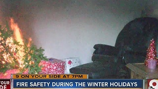 How to keep your family safe from holiday fire hazards