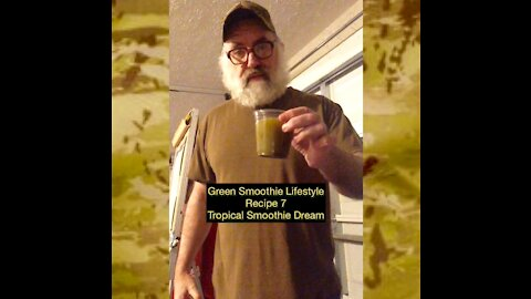 Tropical Smoothie Dream Recipe 7 from the Green Smoothie Lifestyle Ebook