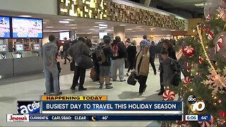 Dec. 20 marks busiest day of holiday travel season