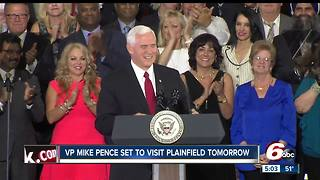 VP Mike Pence to push tax reform while visiting TKO graphix in Plainfield - Video