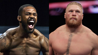 "Brock Lesnar ACCEPTS Jon Jones Challenge to Fight: ""Anytime, Anywhere"" - Video"