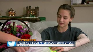 Family wants changes after teen hit by car outside Muskego High School