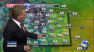 Showers tonight, nice weekend, then watch out! - Video