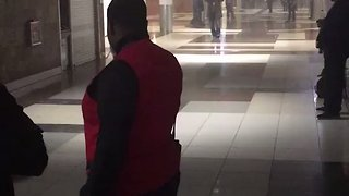 Smoke and Blinking Lights During Power Outage at Atlanta Airport - Video