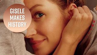 Gisele proves natural beauty shouldn't be underrated - Video
