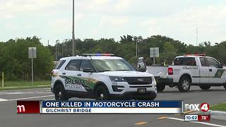 Gilchrist Bridge reopens after being shut down due to fatal motorcycle accident - Video