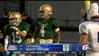HIGHLIGHTS: Cathedral 34, Bishop Chatard 13 - Video