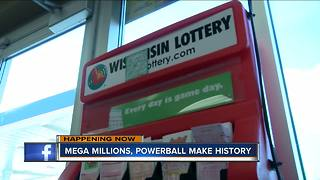 Powerball and Mega Millions at record levels over $300 million - Video
