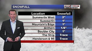 13 First Alert Las Vegas weather updated February 18 morning