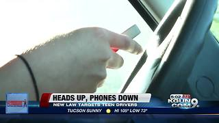 New law prohibits teens from using cell phones while being behind the wheel