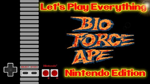 Let's Play Everything: Bio Force Ape