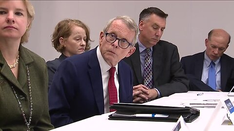 Ohio governor Mike DeWine and the Lead Advisory Committee hold first meeting