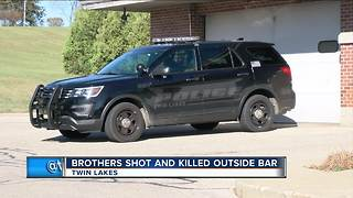 2 brothers killed, suspect arrested in shooting outside Kenosha County bar