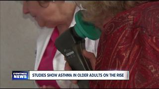 Asthma on the rise in older adults - Video