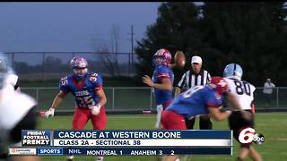 HIGHLIGHTS: Western Boone 48, Cascade 20 - Video