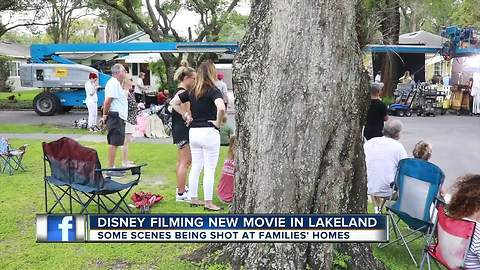 Disney begins filming new movie 'The One and Only Ivan' in Lakeland