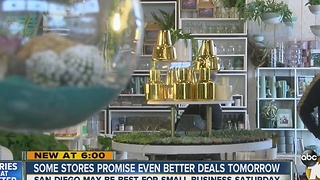 Some stores promise even better deals on Saturday - Video