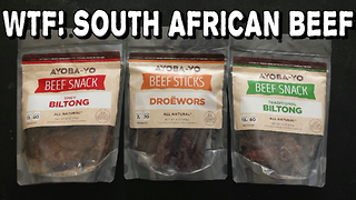 South African Beef Sticks Vs Freakeating Reaction Video - Video