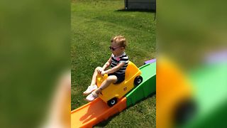 Baby Rollercoaster Ride - Video