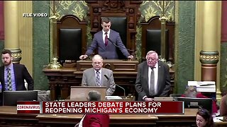 State leaders debate plans for reopening Michigan's economy