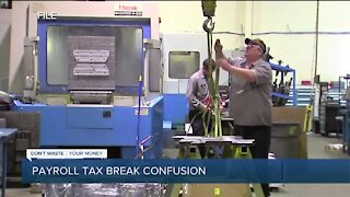 Where is the payroll tax break we're supposed to receive?