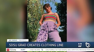 Recent SDSU grad creates clothing line