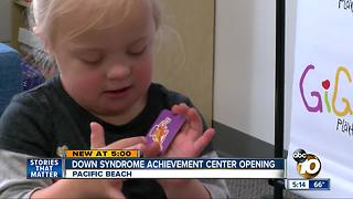 Down syndrome achievement center opening in San Diego - Video