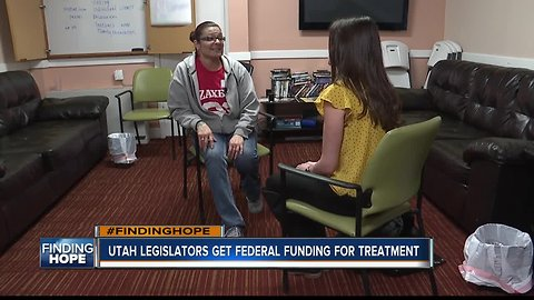 FINDING HOPE: Utah lawmakers using federal funding to help homeless drug addicts get treatment