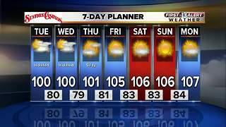13 First Alert Las Vegas Weather Forecast for Monday afternoon 8/21 - Video