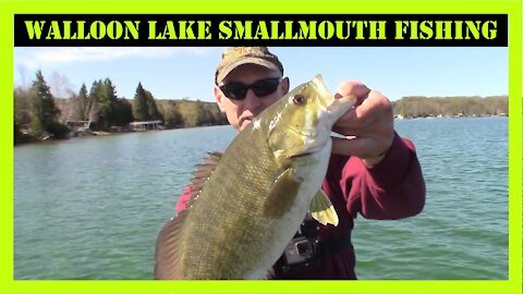Walloon Lake Smallmouth Fishing Northern Michigan