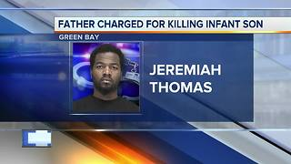 Father charged with homicide in baby's death - Video