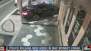 Police release new video in Bad Monkey crash in Ybor City - Video
